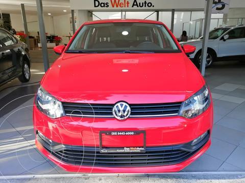 Volkswagen Polo DESING SOUND 1.6L L4 105HP TIPTRONIC usado (2020) color Rojo Flash precio $225,500