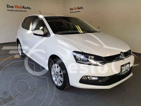 Volkswagen Polo STD usado (2018) color Blanco Candy precio $175,000
