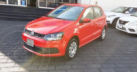 Volkswagen Polo 1.6L Base 5P usado (2019) color Rojo precio $149,900