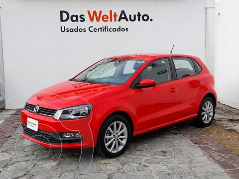 Volkswagen Polo 1.6L Base 4P usado (2020) color Rojo precio $235,000