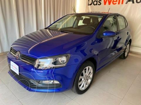 Volkswagen Polo DESING SOUND 1.6L L4 105HP TIPTRONIC usado (2020) color Azul precio $229,000