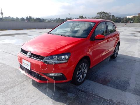 Volkswagen Polo 1.6L Base 4P usado (2020) color Rojo precio $270,000