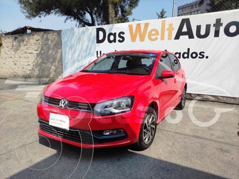 Volkswagen Polo SOUND 1.6L L4 105HP MT usado (2018) color Rojo precio $190,000