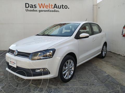 Volkswagen Polo 1.6L Base 4P usado (2020) color Blanco precio $222,000