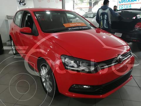 Volkswagen Polo DESING SOUND 1.6L L4 105HP TM usado (2020) color Rojo Tornado precio $215,500