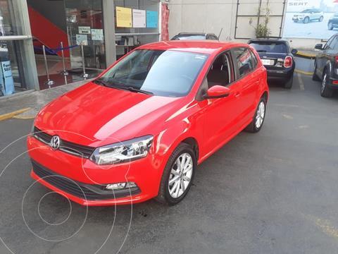 Volkswagen Polo 1.6L Base 5P usado (2020) color Rojo precio $234,500