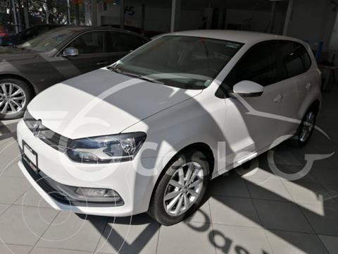 Volkswagen Polo DESING SOUND 1.6L L4 105HP TIPTRONIC usado (2020) color Blanco precio $229,500