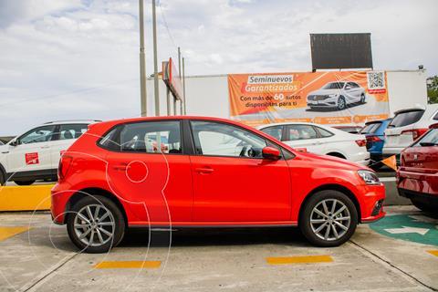 Volkswagen Polo DESING SOUND 1.6L L4 105HP TIPTRONIC usado (2020) color Rojo precio $259,990