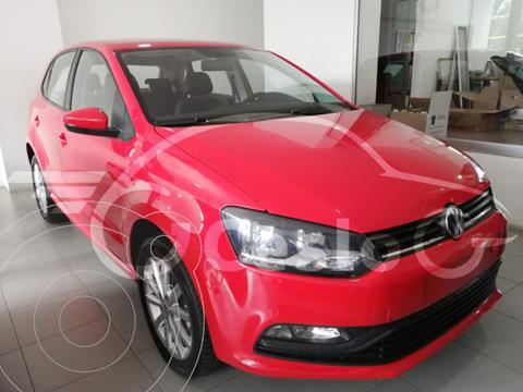 Volkswagen Polo DESING SOUND 1.6L L4 105HP TM usado (2020) color Rojo precio $229,500