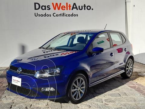 Volkswagen Polo 1.6L Base 4P usado (2020) color Azul precio $250,000