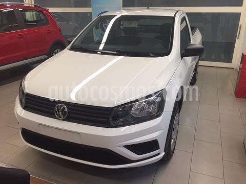 Volkswagen Saveiro 1.6 Cabina Simple Trendline nuevo color Blanco precio $1.476.850
