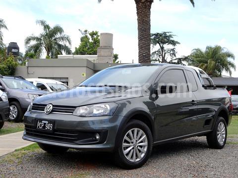 foto Volkswagen Saveiro 1.6 Cabina Extendida Pack Eléctrico usado (2015) color Gris Urano precio $1.090.000