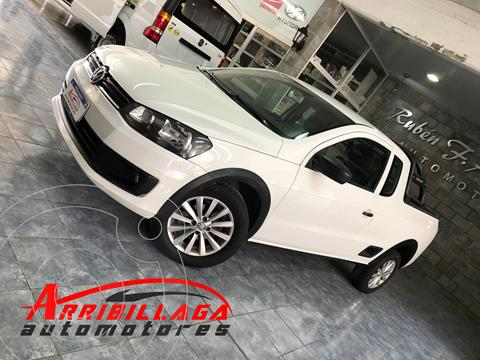 Volkswagen Saveiro 1.6 Cabina Extendida Safety + Pack High usado (2016) color Blanco Cristal precio $1.390.000