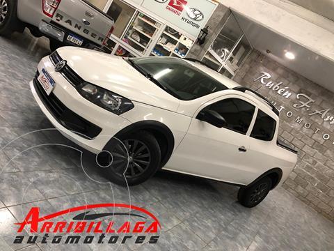 Volkswagen Saveiro 1.6 Cabina Doble Power usado (2015) color Blanco Cristal precio $1.750.000