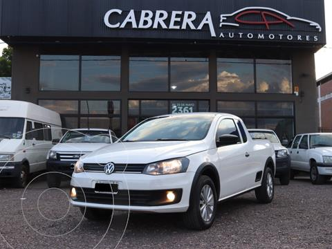 Volkswagen Saveiro 1.6 Cabina Extendida Pack +Seg+High My15 usado (2014) color Blanco precio $1.100.000