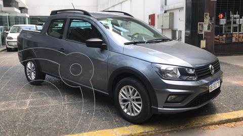 Volkswagen Saveiro 1.6 Cabina Doble Comfortline usado (2017) color Gris Plata  precio $11.500.000