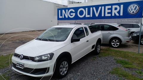 Volkswagen Saveiro 1.6 Cabina Extendida Safety usado (2014) color Blanco Cristal precio $1.600.000