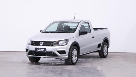 Volkswagen Saveiro 1.6 Cabina Simple Trendline usado (2019) color Gris Plata  precio $2.030.000