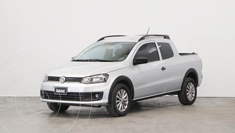 Volkswagen Saveiro 1.6 Cabina Extendida Pack High usado (2016) color Gris Plata  precio $1.670.000