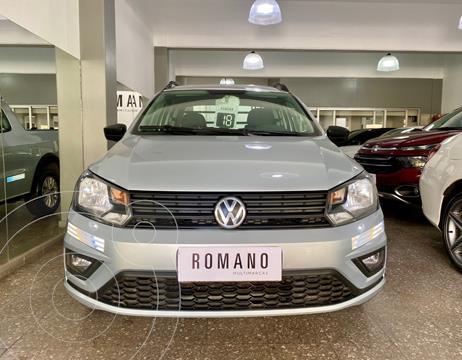 Volkswagen Saveiro 1.6 Cabina Doble Highline usado (2018) color Gris Plata  precio $2.400.000