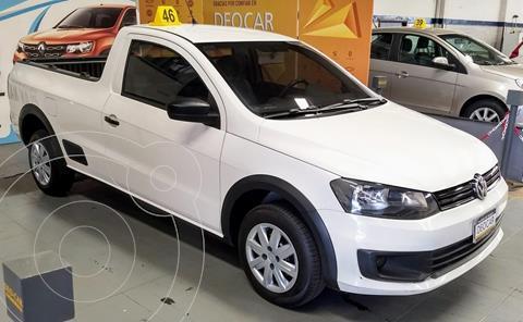 Volkswagen Saveiro Cabina Simple +Safety My15 usado (2015) color Blanco precio $1.490.000
