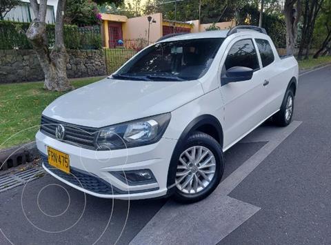 Volkswagen Saveiro 1.6L CS Plus usado (2018) color Blanco precio $44.900.000