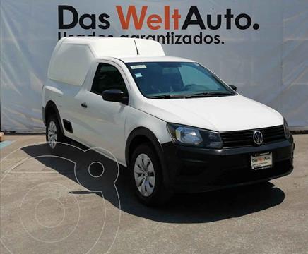 Volkswagen Saveiro Starline AC usado (2018) color Blanco precio $215,000