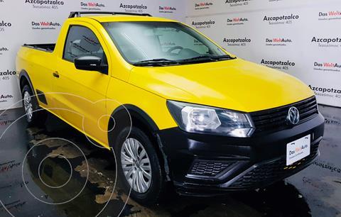 Volkswagen Saveiro Robust (Cabina Sencilla) usado (2019) color Blanco Candy financiado en mensualidades(enganche $46,000 mensualidades desde $5,598)