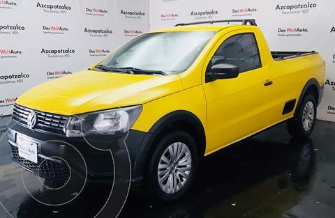 Volkswagen Saveiro Robust (Cabina Sencilla) usado (2019) color Blanco Candy precio $229,990