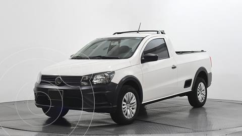 Volkswagen Saveiro Robust (Cabina Sencilla) usado (2020) color Blanco precio $249,500