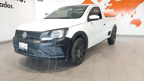 Volkswagen Saveiro Starline usado (2017) color Blanco financiado en mensualidades(enganche $52,042 mensualidades desde $6,331)