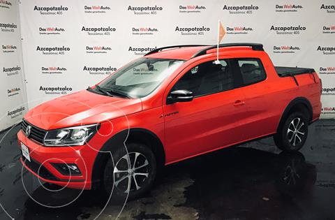 Volkswagen Saveiro Pepper (Doble Cabina) usado (2019) color Rojo Flash financiado en mensualidades(enganche $66,000 mensualidades desde $8,631)