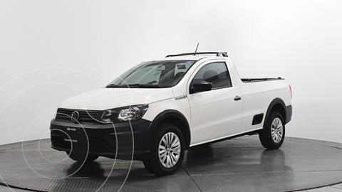 Volkswagen Saveiro Robust  usado (2020) color Blanco precio $249,500