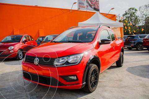 Volkswagen Saveiro DOBLE CABINA PEPPER usado (2020) color Rojo precio $309,990