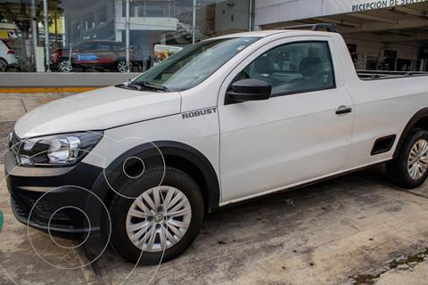 Volkswagen Saveiro ROBUST 2P L4 1.6L AC 1TON TM usado (2020) color Blanco precio $249,990