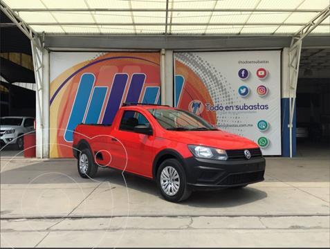 Volkswagen Saveiro Robust (Cabina Sencilla) A/A usado (2020) color Rojo precio $100,000