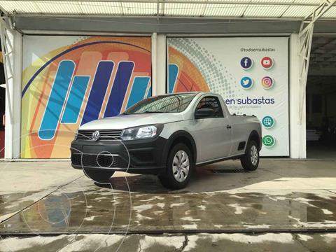 Volkswagen Saveiro Starline AC usado (2018) color Plata precio $185,000