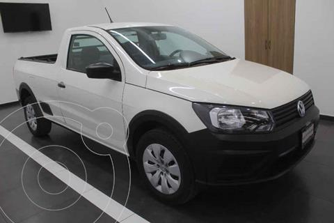 Volkswagen Saveiro Starline usado (2018) color Blanco precio $199,000