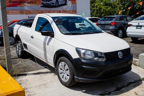 Volkswagen Saveiro STARLINE CAB SENCILLA AA usado (2018) color Blanco precio $219,990