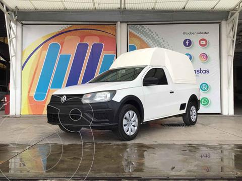 Volkswagen Saveiro Starline AC usado (2017) color Blanco precio $179,000