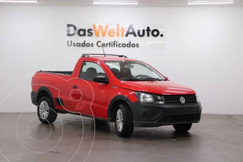 Volkswagen Saveiro Robust (Cabina Sencilla) A/A usado (2020) color Rojo precio $240,000