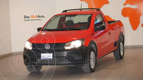 Volkswagen Saveiro Robust (Cabina Sencilla) usado (2019) color Rojo precio $209,500
