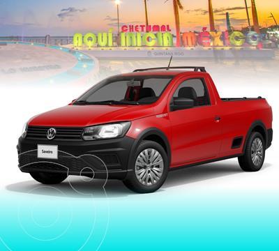 OfertaVolkswagen Saveiro Robust  nuevo color Rojo Flash precio $237,717
