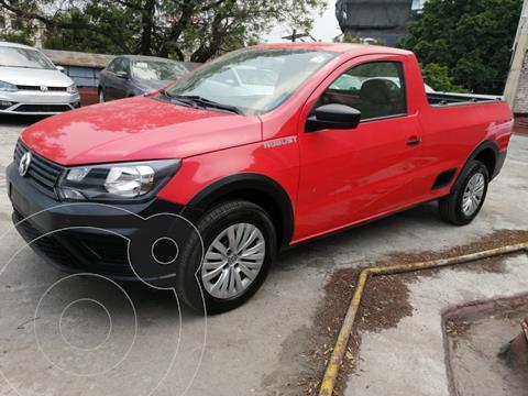 Volkswagen Saveiro Robust CS usado (2019) color Rojo precio $219,500