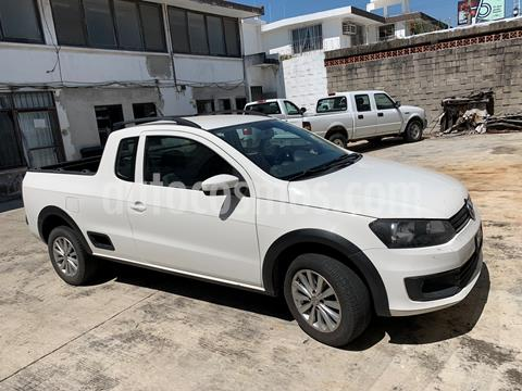 Volkswagen Saveiro Highline usado (2016) color Blanco precio $150,000