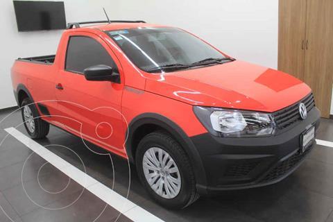 Volkswagen Saveiro Robust (Cabina Sencilla) usado (2020) color Rojo precio $229,000