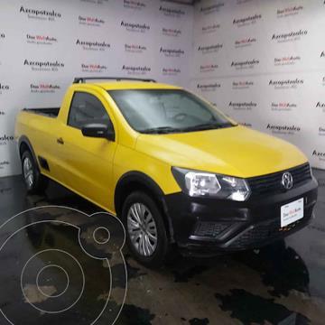 Volkswagen Saveiro Robust (Cabina Sencilla) A/A usado (2019) color Amarillo precio $229,990