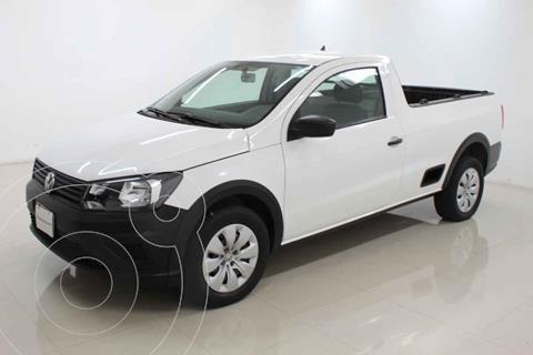 Volkswagen Saveiro Starline AC usado (2018) color Blanco precio $209,000