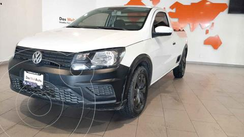 Volkswagen Saveiro Starline usado (2017) color Blanco precio $195,500