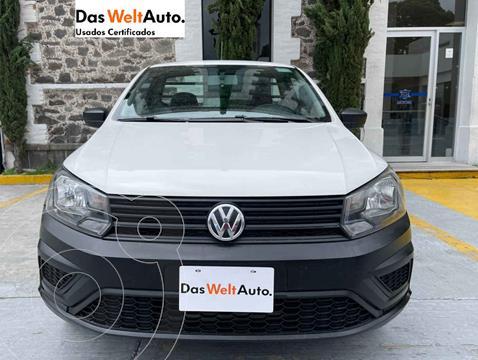 Volkswagen Saveiro Starline usado (2018) color Blanco precio $198,000
